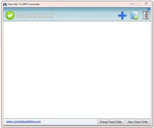 Free AAC to MP3 Converter