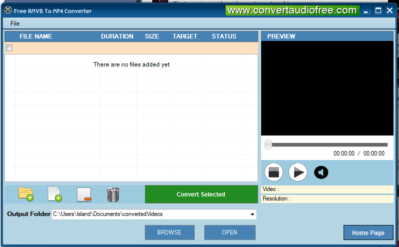 Free RMVB to MP4 Converter