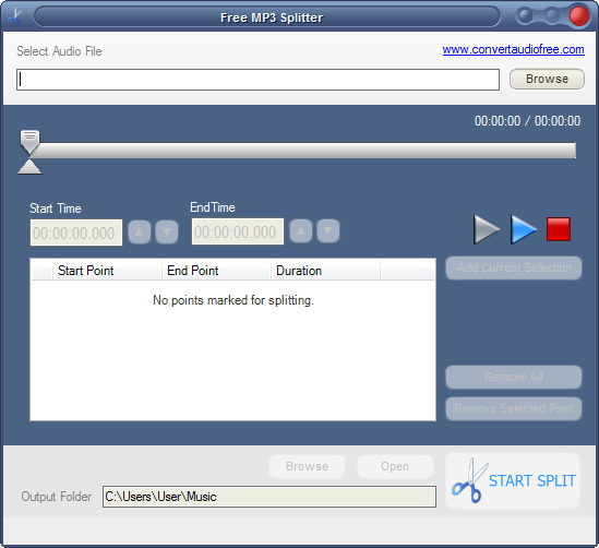Free MP3 Splitter